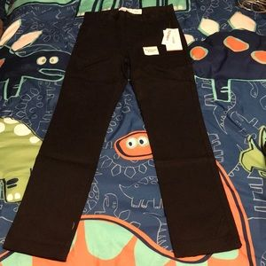 Old Navy Boy's Skinny Black Uniform Pants NWT